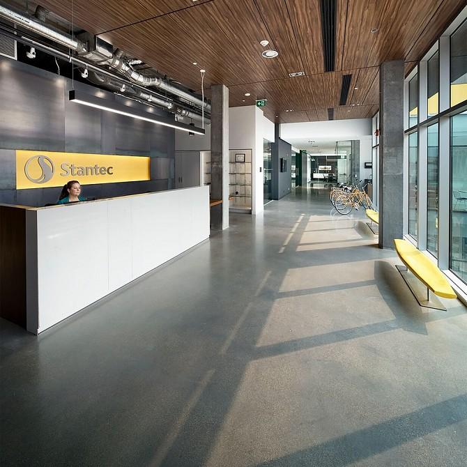 Stantecs Downtown Winnipeg Office Manitoba Interior DesignAward