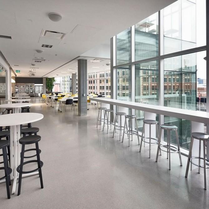 Project credits interior designer stantec architecture